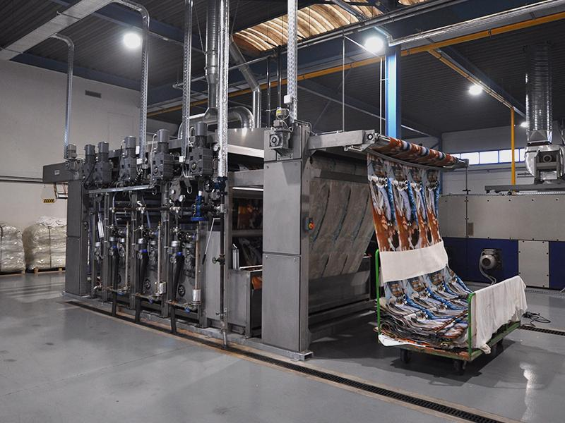 Colour4Cotton Towel Printing with COLARIS   Picture © ZIMMER AUSTRIA   skugler