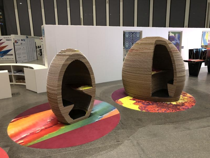 Printeriors - Fespa 2018 (Digital Printed Carpet with COLARIS)