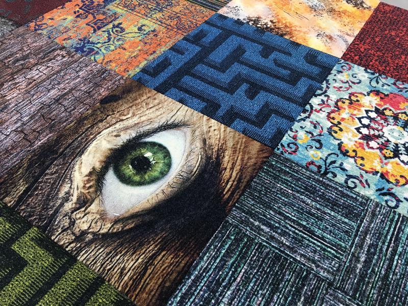 Tiles-carpet-printing