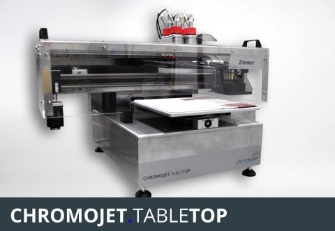 CHROMOJET.TABLETOP Printer - ZIMMER AUSTRIA