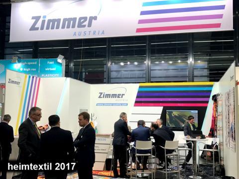 Heimtextil 2017 | ZIMMER AUSTRIA